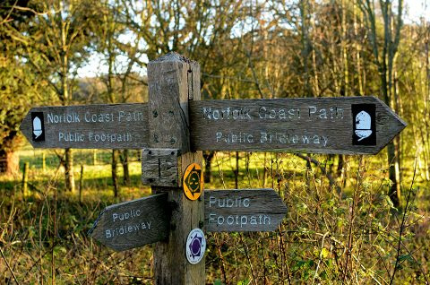 North Norfolk footpaths